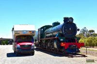 DOPFER 402 A - Steamtown Heritage Railway Center, Australien